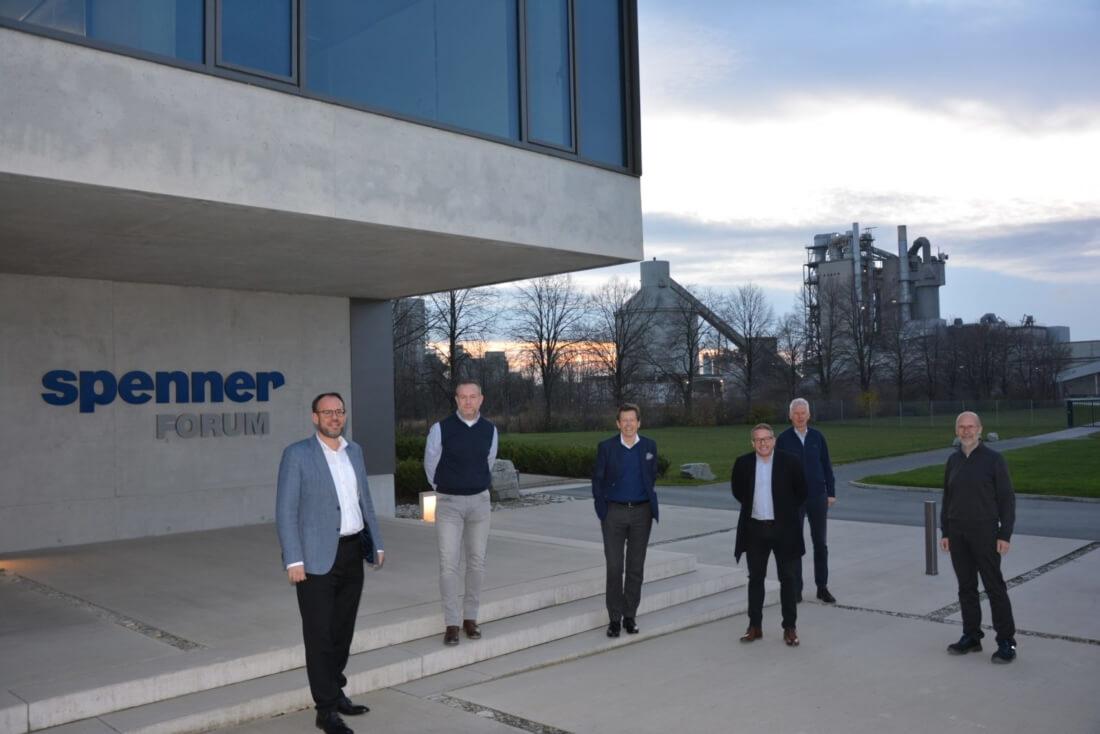 Das erste Zusammentreffen zwischen Spenner und der Geschäftsführung der Spenner Syston Marco Schuhmacher .